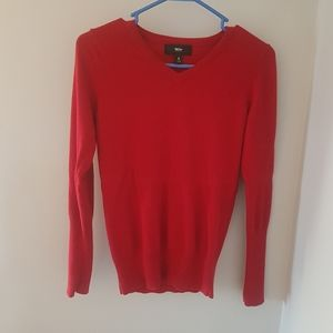 🌺 Soft Stretch Red Mossimo Sweater (S)